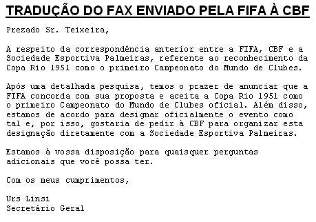 O primeiro Mundial de Clubes (1951) - Ranking de Clubes Brasileiros 8d7c33e1bca5d